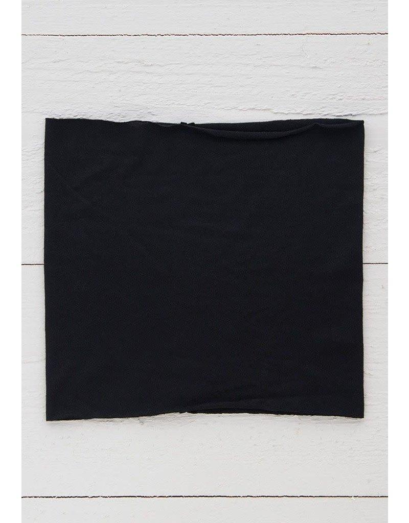 HALF BANDEAU SOLID BLACK