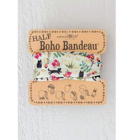 Half Bandeau Cats Cream