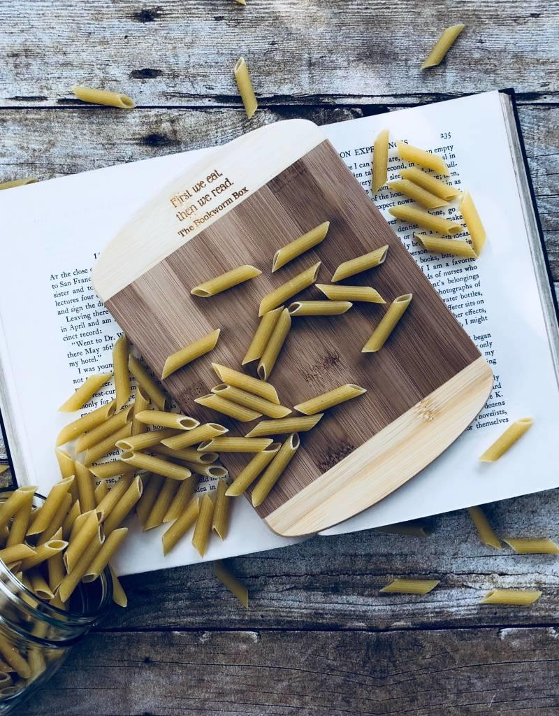 The Bookworm Box Cutting Board