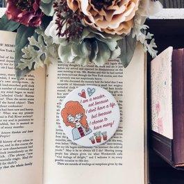 Book Lover Magnet