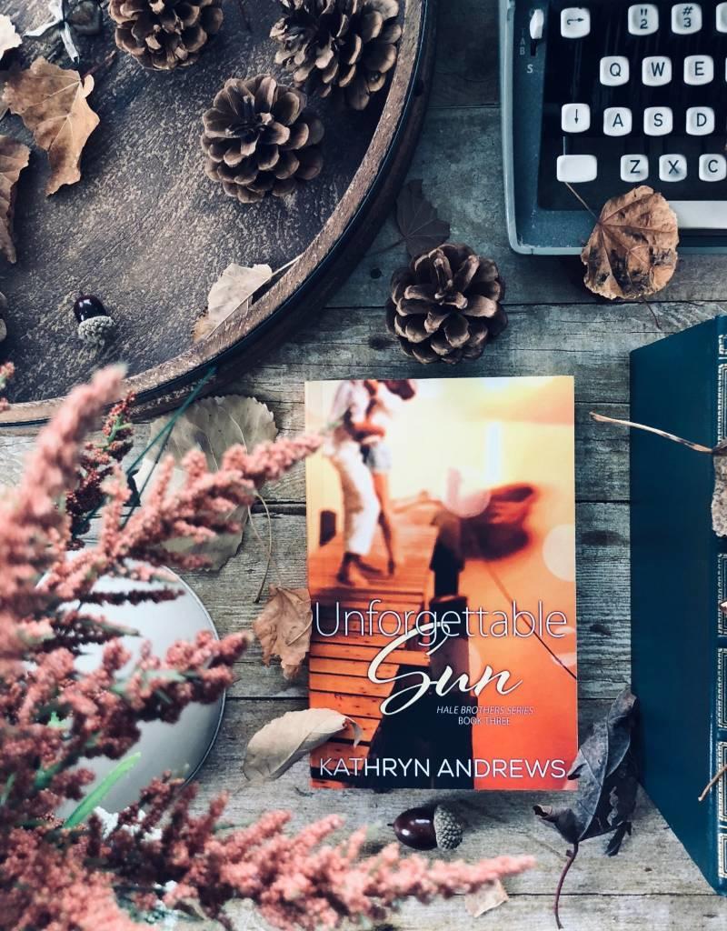 Unforgettable Sun Book 3 by Kathyrn Andrews - BOOK BONANZA PICKUP ONLY