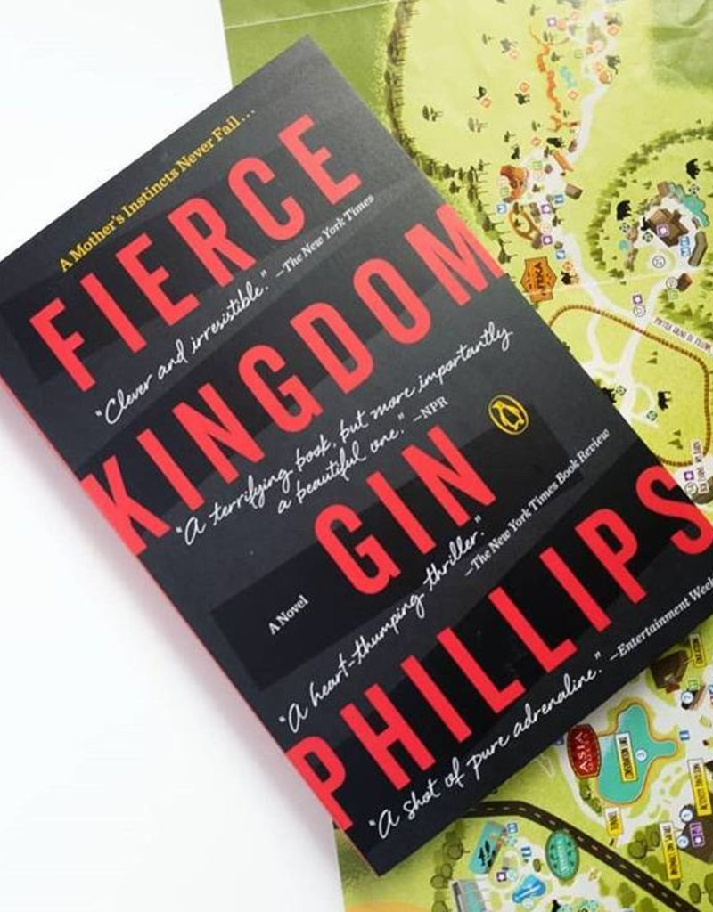 Fierce Kingdom (Hardback) by Gin Phillips