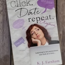 Click. Date. Repeat. Again Book 2 by K J Farnham
