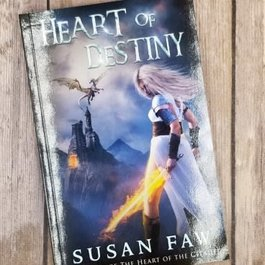 Heart of Destiny, #1 by Susan Faw (Bookplate)