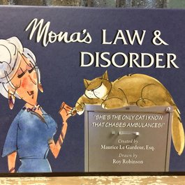 Mona's Law & Disorder by Maurice Le Gardeur