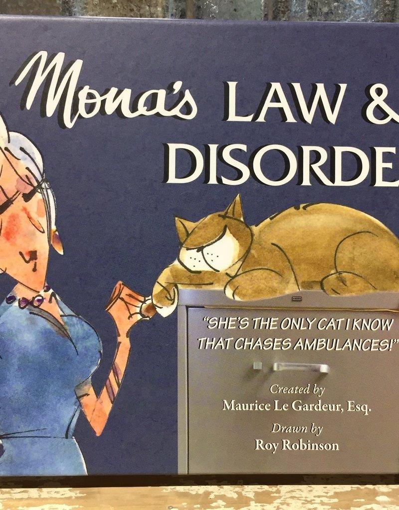 Mona's Law & Disorder by Maurice Le Gardeur - BOOK BONANZA PICKUP ONLY