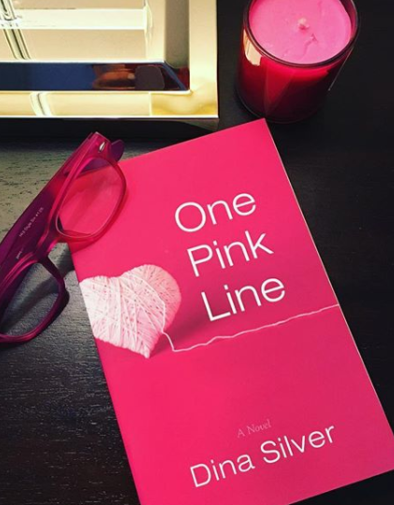 One Pink Line by Dina Silver - BOOK BONANZA PICKUP ONLY