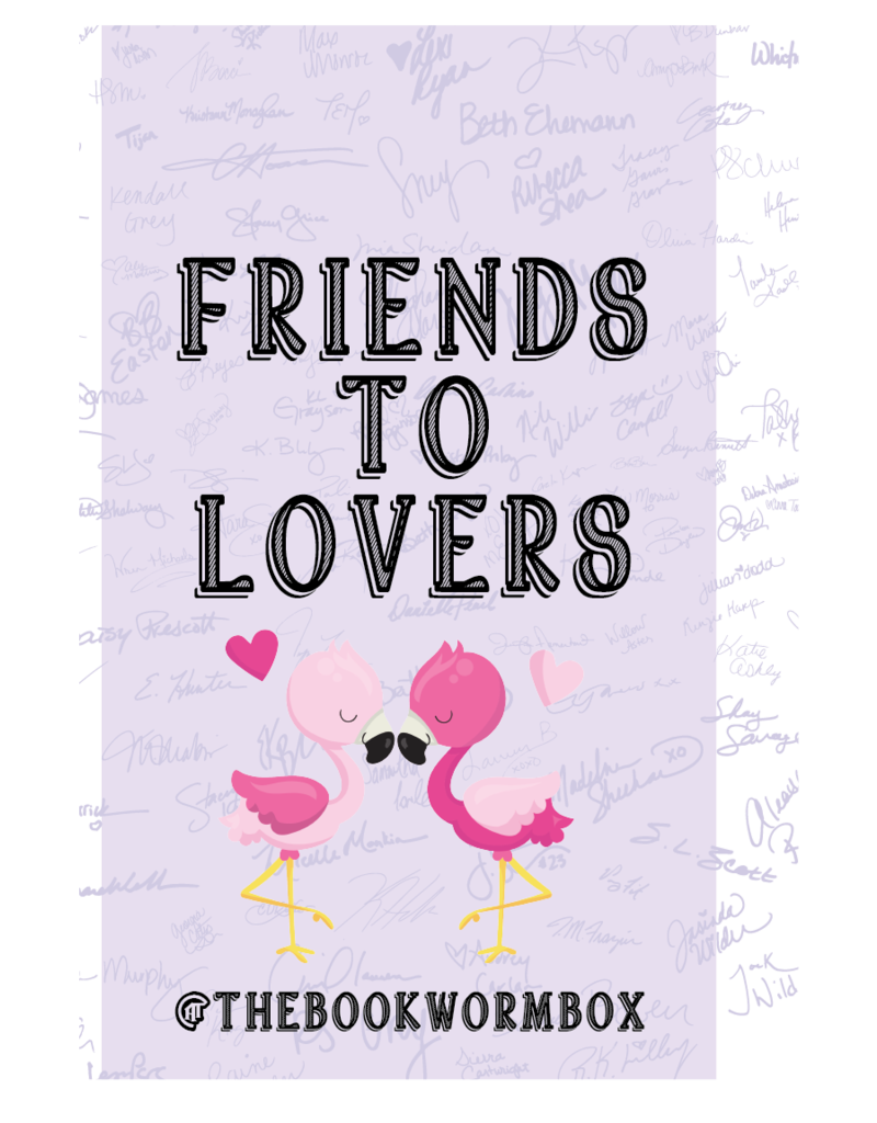 Friends to Lovers Grab Bag - Book Bonanza PICKUP ONLY
