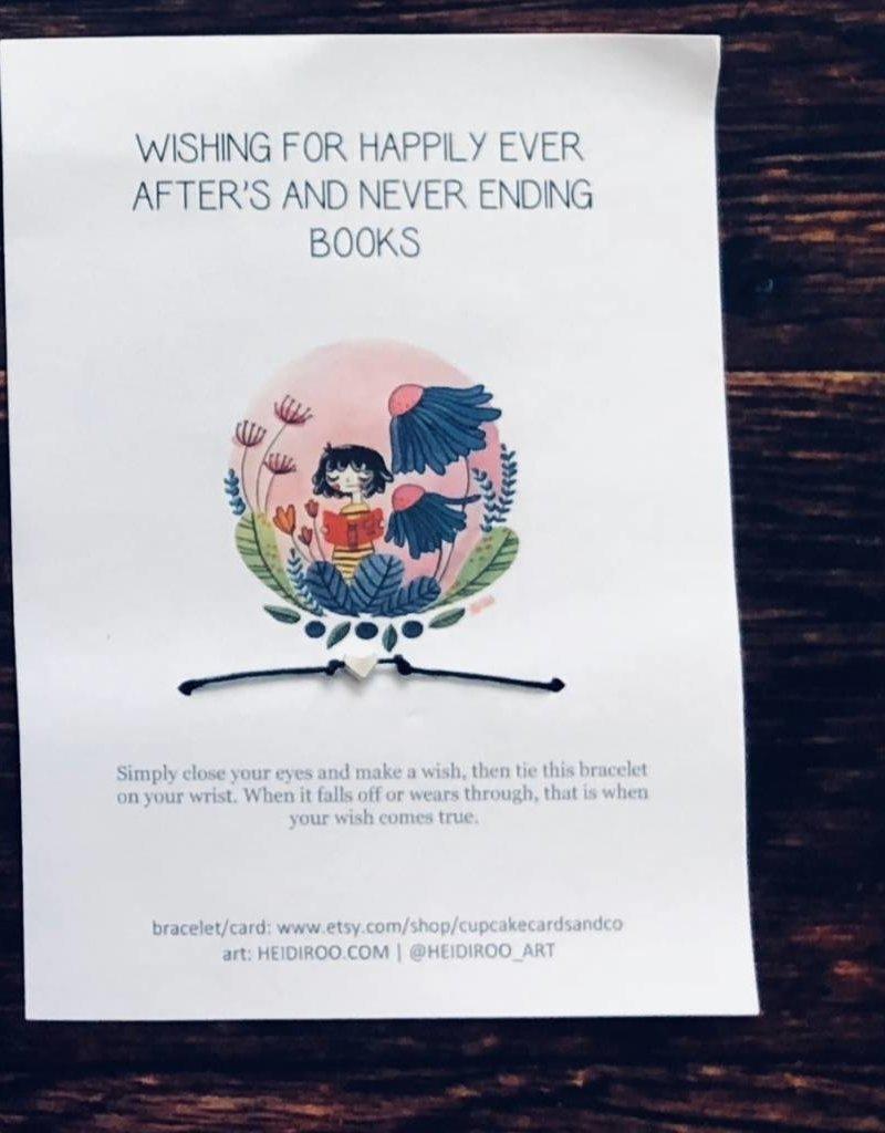Make A Wish Bracelet - Book Bonanza PICKUP ONLY