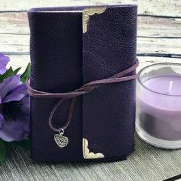 Purple Leather Journal - Book Bonanza PICKUP ONLY