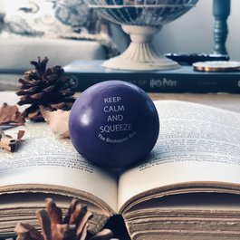 BWB Keep Calm and Squeeze Stress Ball - Book Bonanza PICKUP ONLY