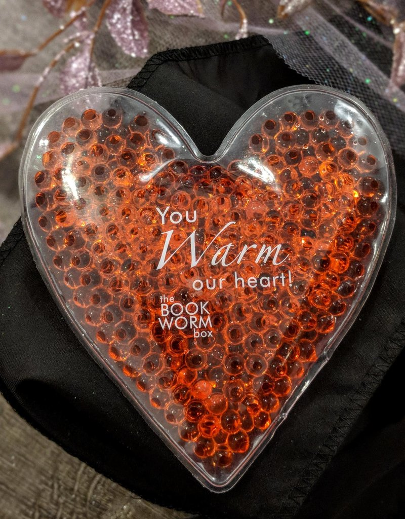 Bookworm Box Heart Shaped Hot Cold Pack  - Book Bonanza PICKUP ONLY