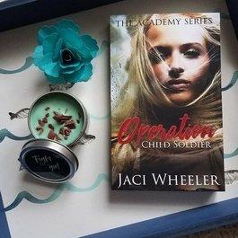 Fight Like a Girl Jaci Wheeler Candle - Book Bonanza PICKUP ONLY