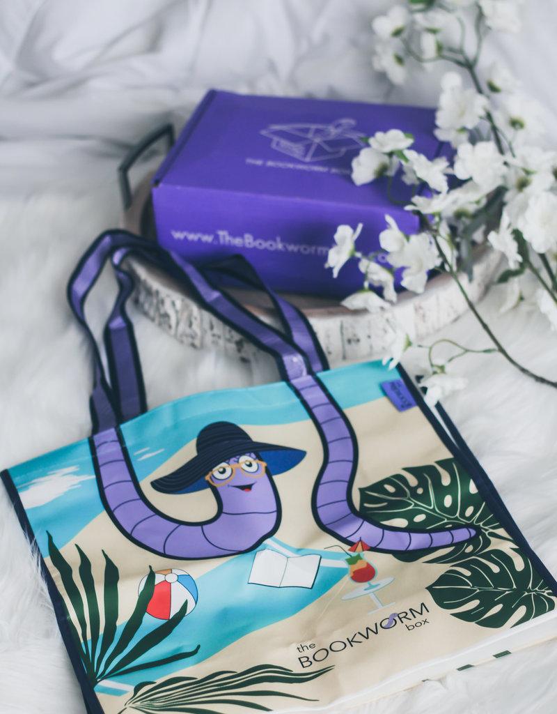 The Bookworm Box Beach Tote Bag