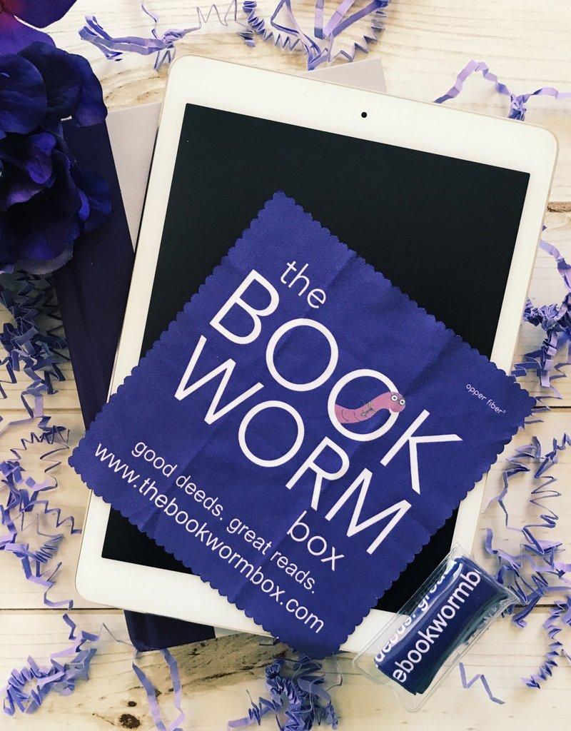 The Bookworm Box  Microfiber Cloth