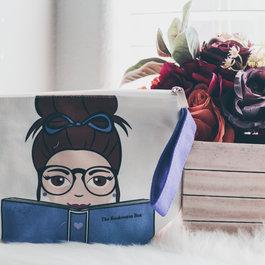 The Bookworm Box Wristlet