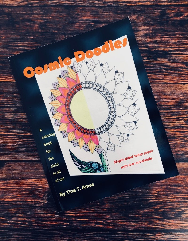 Cosmic Doodles Coloring Book by Tina T. Ames
