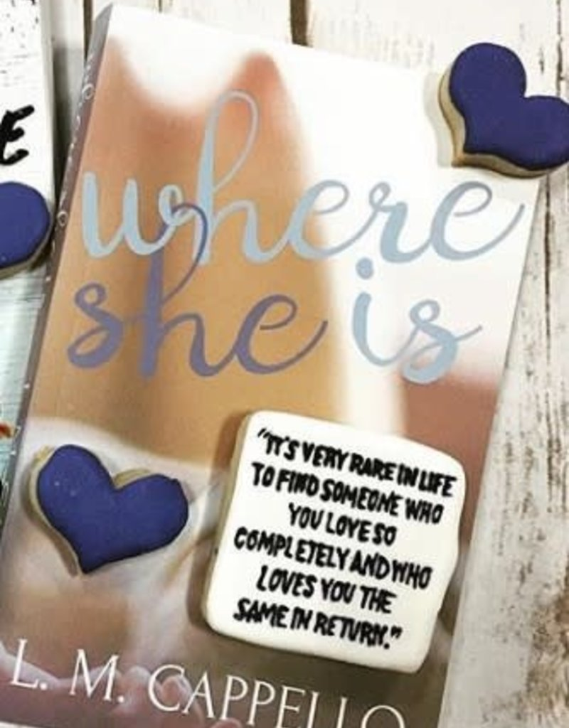 Where She Is, #1 by Loriana Cappello