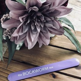 The Bookworm Box Nail File