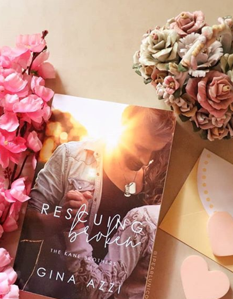 Rescuing Broken, #1 by Gina Azzi