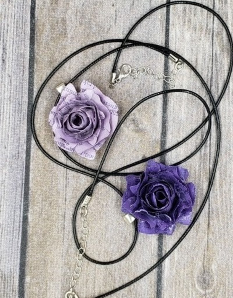 Blooming Necklace- Fifty Shades of Grey