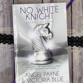 No White Knight, #8 by Angel Payne & Victoria Blue (Bookplate)