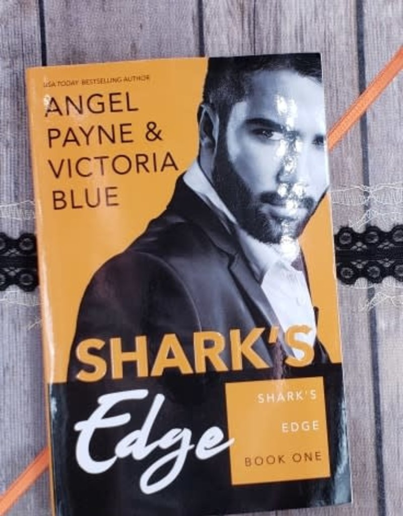Shark's Edge, #1 by Angel Payne & Victoria Blue (Bookplate)