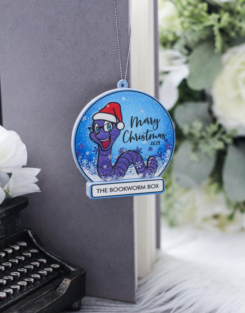 Bookworm Box Christmas Ornament 2019