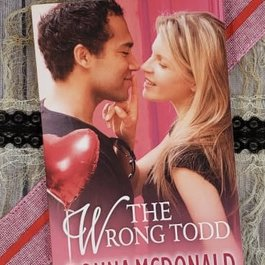 The Wrong Todd by Donna McDonald - Unsigned