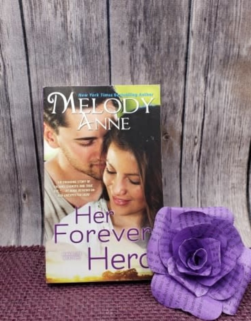 Her Forever Hero, #5 (Mass Market) by Melody Anne - Bookplate