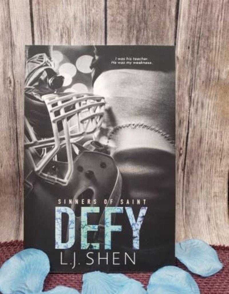 Defy #.5 by LJ Shen - Unsigned