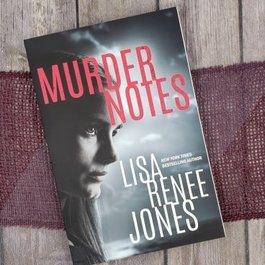 Murder Notes #1  by Lisa Renee Jones - Unsigned