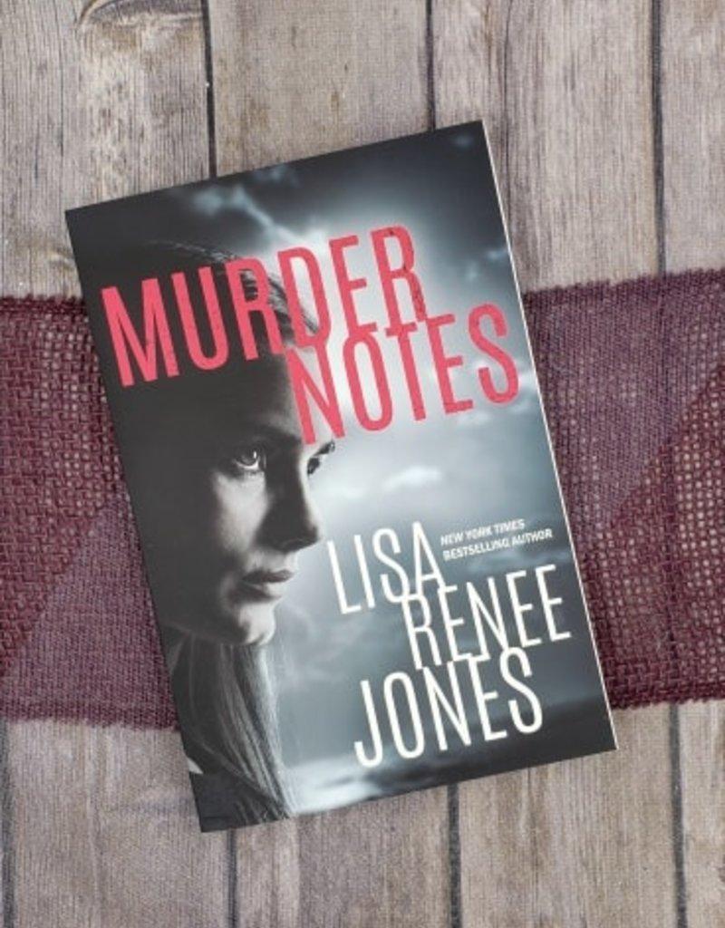 Murder Notes by Lisa Renee Jones (Bookplate)
