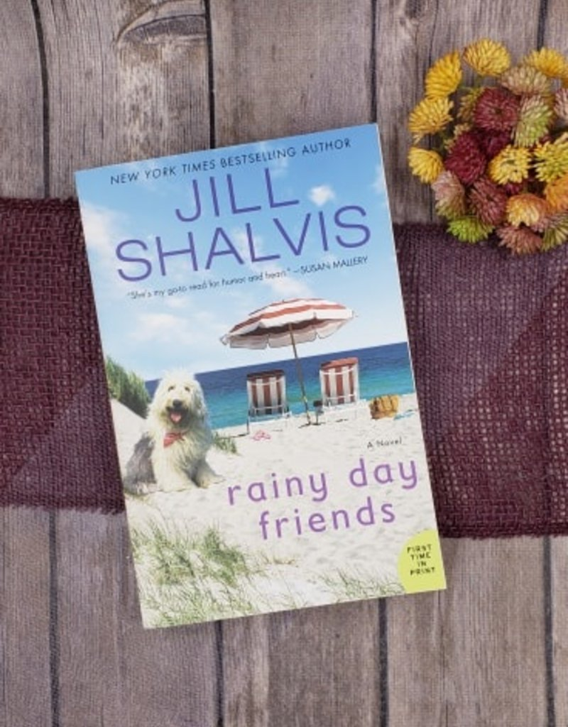 Rainy Day Friends, #2 by Jill Shalvis (Bookplate)