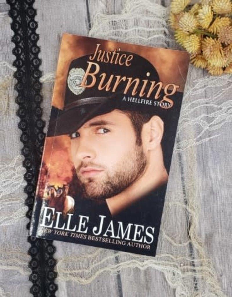 Justice Burning, #2 by Elle James