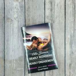 Deadly Reckoning #1/ Deadly Engagement #2 by Elle James (Mass Market)