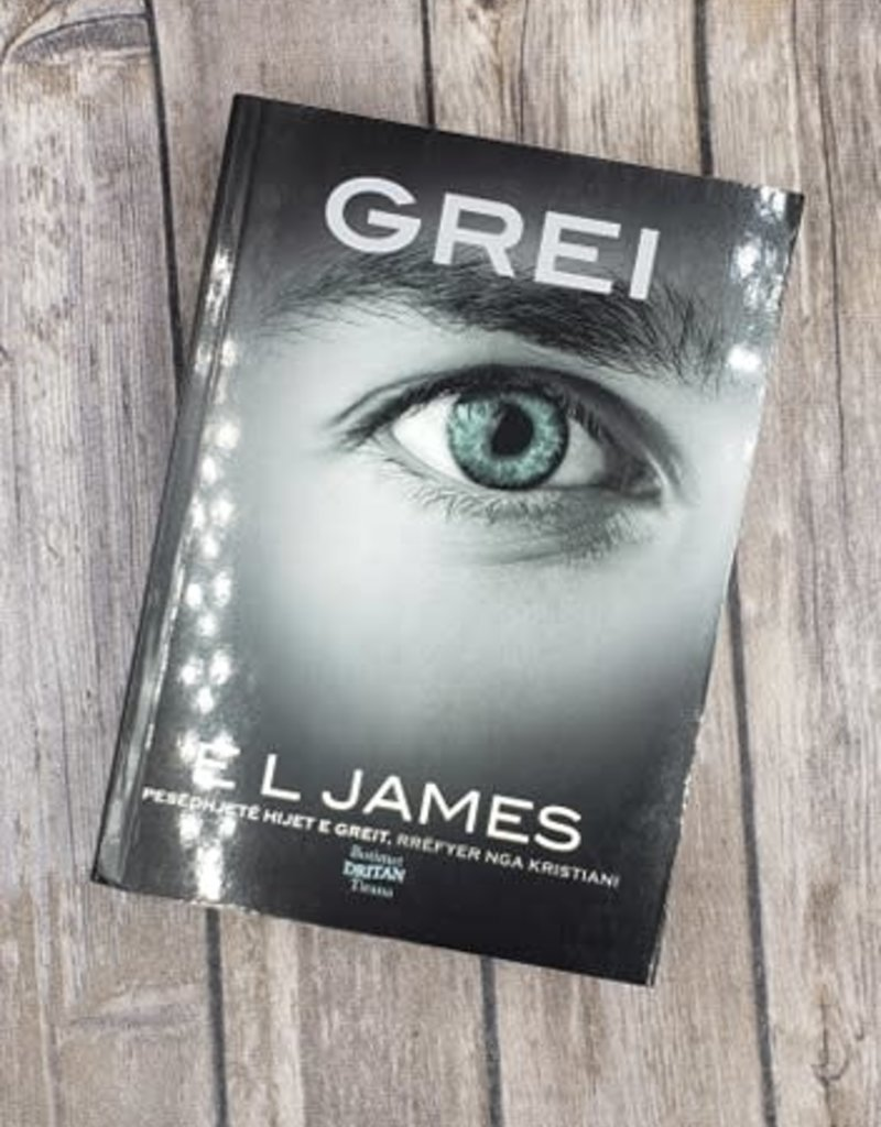 Grei, #4 by EL James (Albanian Version)
