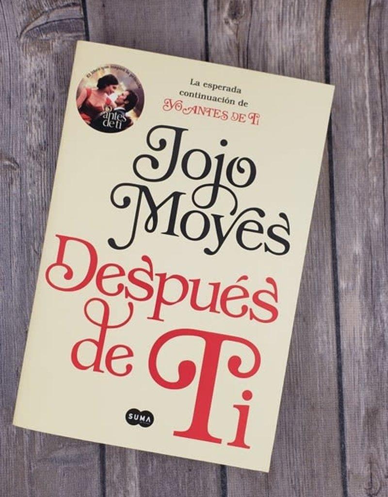 Despues de Ti #2 by Jojo Moyes (Spanish Version) - Bookplate