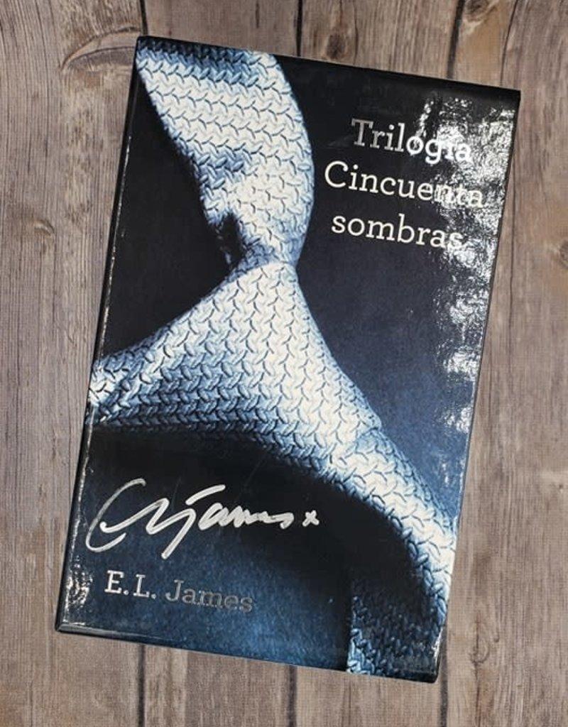 Trilogia Cincuenta sombras, #1-3 (Hardback) by EL James (Colombian Version)
