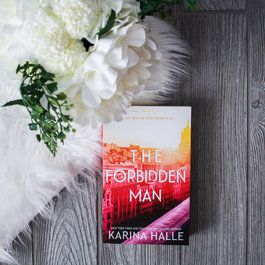 Karina Halle PinMate & The Forbidden Man by Karina Halle - Exclusive Cover
