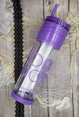The Bookworm Box Tumbler - Purple