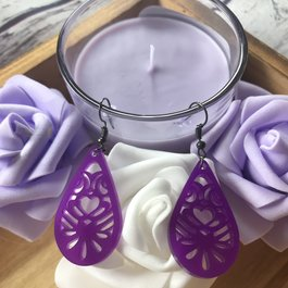 BWB Purple Earrings