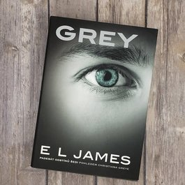 Grey, #4 (Hardback) by EL James (Czech Version) - Unsigned