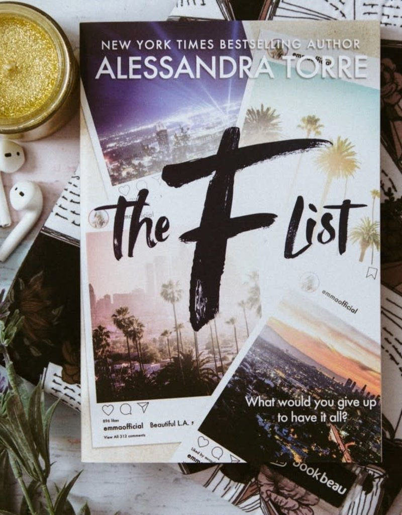 The F list by Alessandra Torre (Exclusive Cover)