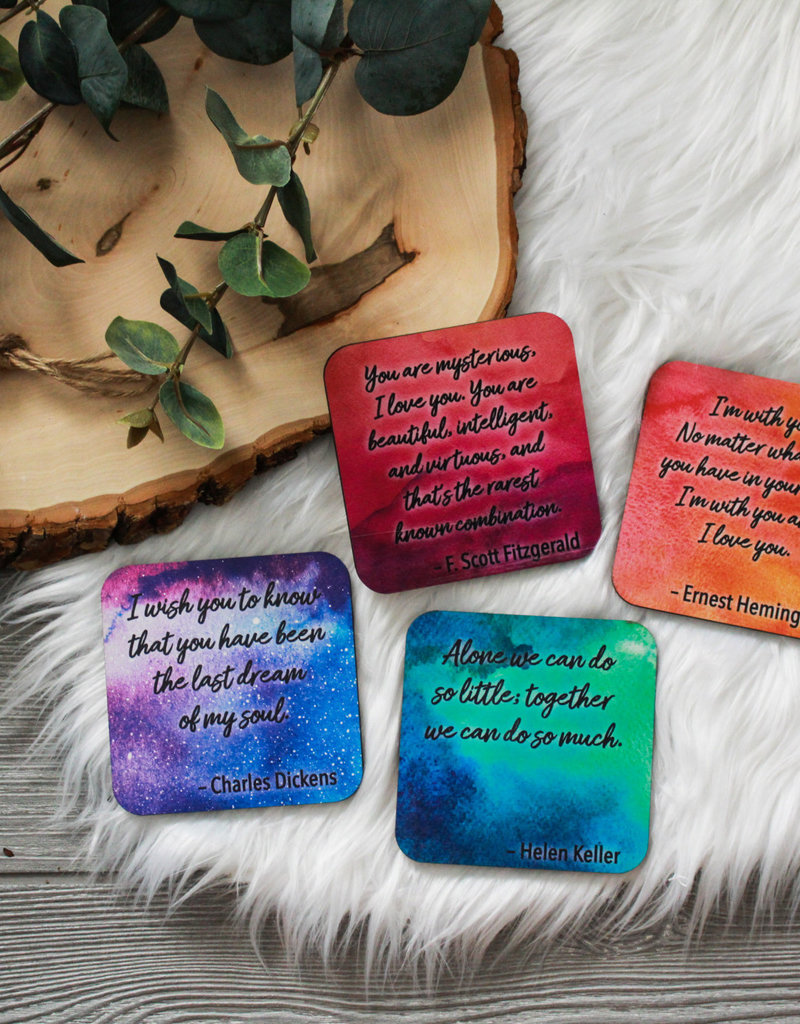 Quoasters - 4 pack
