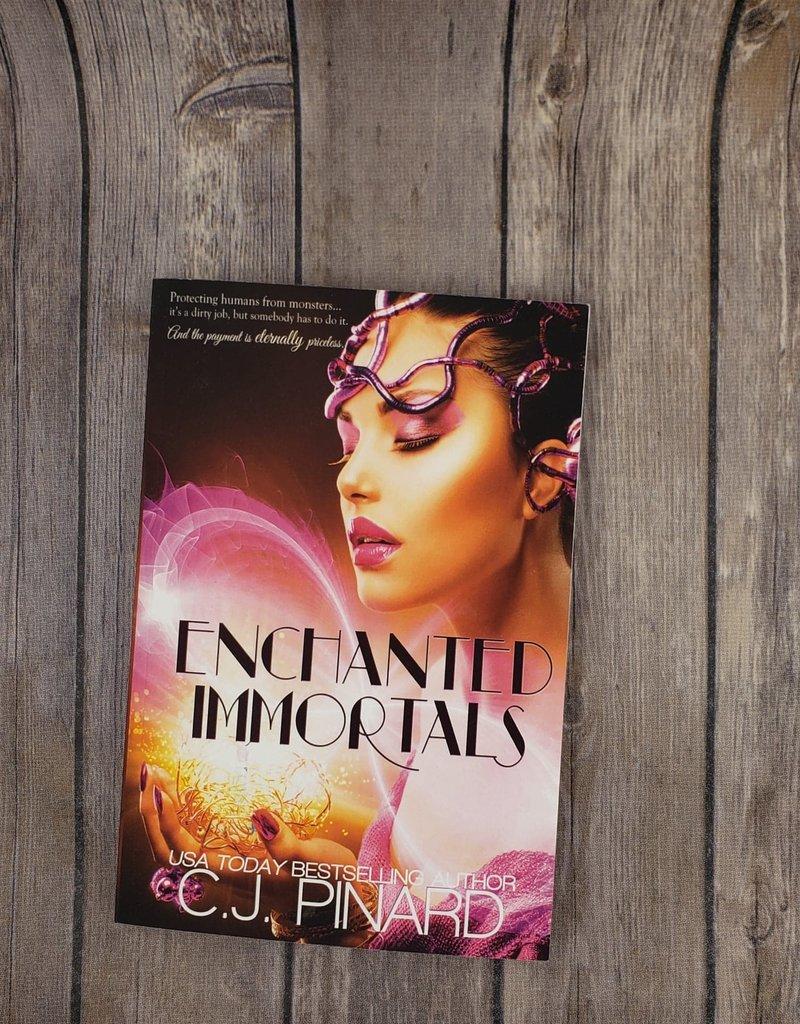 Enchanted Immortals, #1 by CJ Pinard