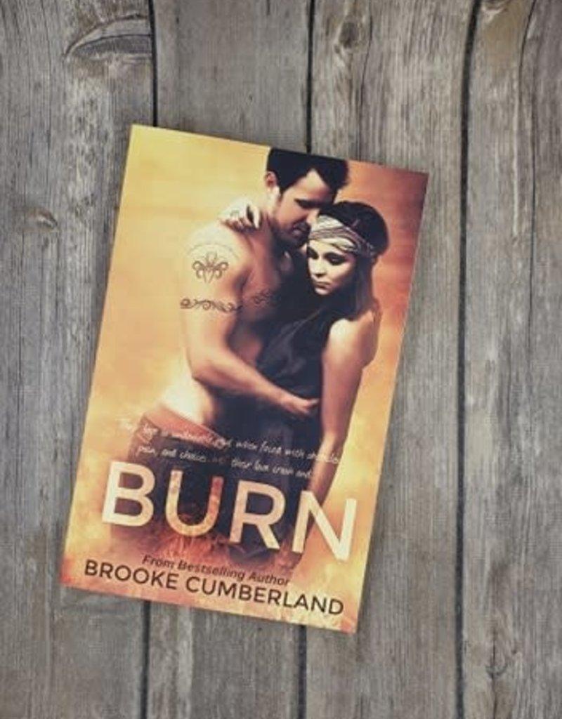 Burn, #2 by Brooke Cumberland