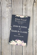 Josh & Anna and Gabe & Claire by Eliza Freed