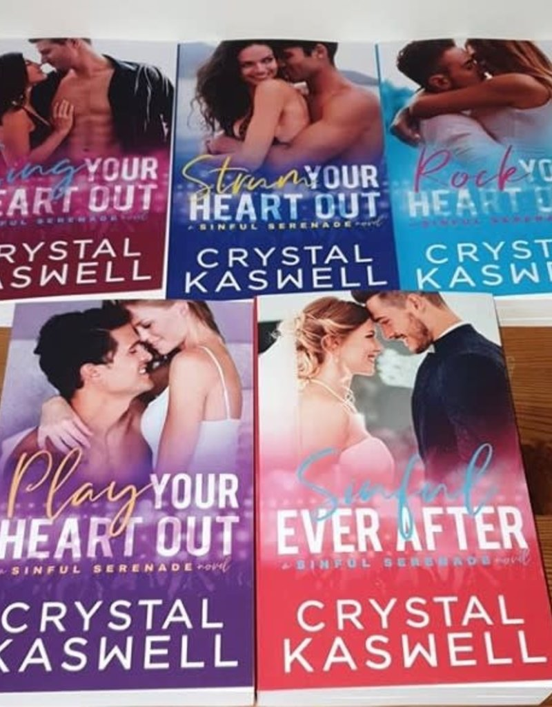 Sing Your Heart Out, #1 by Crystal Kaswell