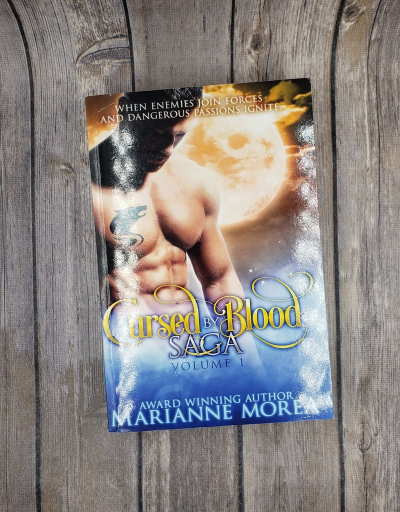 Cursed by Blood Saga, #1 by Marianne Morea